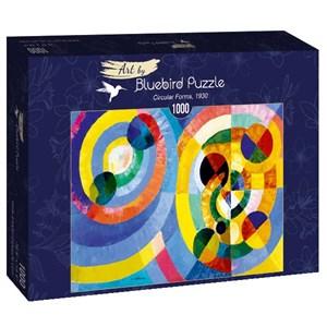 """Bluebird Puzzle (60081) - Robert Delaunay: """"Circular Forms, 1930"""" - 1000 pièces"""