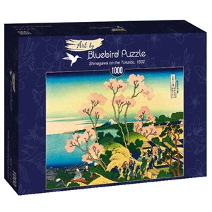"Bluebird Puzzle (60093) - Hokusai: ""Shinagawa on the Tokaido, 1832"" - 1000 pièces"