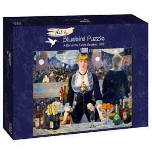 "Bluebird Puzzle (60080) - Edouard Manet: ""A Bar at the Folies-Bergère, 1882"" - 1000 pièces"