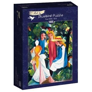 "Bluebird Puzzle (60082) - August Macke: ""Four Girls, 1913"" - 1000 pièces"