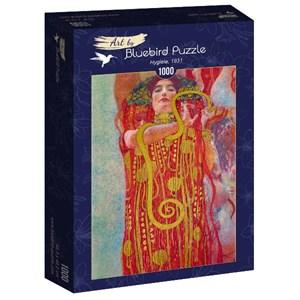 "Bluebird Puzzle (60087) - Gustav Klimt: ""Hygieia, 1931"" - 1000 pièces"