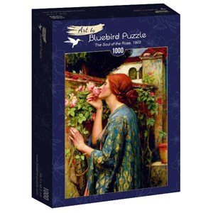 """Bluebird Puzzle (60096) - John William Waterhouse: """"The Soul of the Rose, 1903"""" - 1000 pièces"""