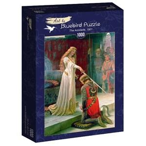 """Bluebird Puzzle (60071) - Edmund Blair Leighton: """"The Accolade, 1901"""" - 1000 pièces"""