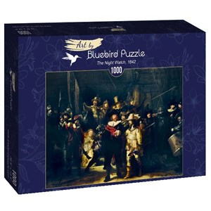 "Bluebird Puzzle (60078) - Rembrandt: ""The Night Watch, 1642"" - 1000 pièces"