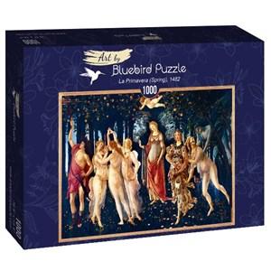 "Bluebird Puzzle (60057) - Sandro Botticelli: ""La Primavera (Spring), 1482"" - 1000 pièces"