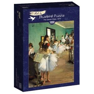 "Bluebird Puzzle (60046) - Edgar Degas: ""The Dance Class, 1874"" - 1000 pièces"