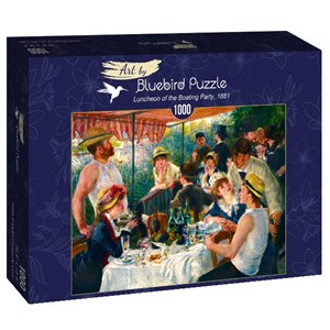 """Bluebird Puzzle (60048) - Pierre-Auguste Renoir: """"Luncheon of the Boating Party, 1881"""" - 1000 pièces"""