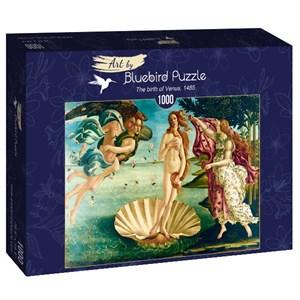 "Bluebird Puzzle (60055) - Sandro Botticelli: ""The birth of Venus, 1485"" - 1000 pièces"