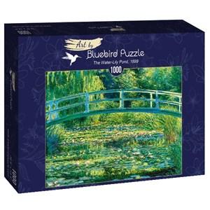 "Bluebird Puzzle (60043) - Claude Monet: ""The Water-Lily Pond, 1899"" - 1000 pièces"