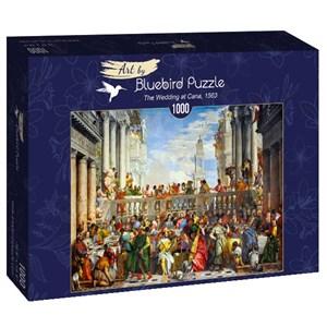 "Bluebird Puzzle (60011) - Paul Véronèse: ""The Wedding at Cana, 1563"" - 1000 pièces"