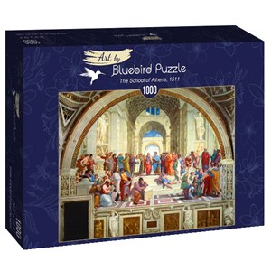 "Bluebird Puzzle (60013) - Raphael: ""The School of Athens, 1511"" - 1000 pièces"