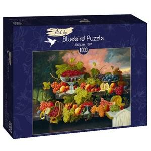"Bluebird Puzzle (60024) - Severin Roesen: ""Still Life, 1867"" - 1000 pièces"