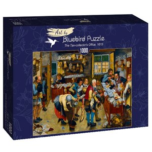 "Bluebird Puzzle (60085) - Brueghel le Jeune: ""The Tax-collector's Office, 1615"" - 1000 pièces"