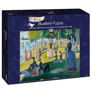 """Bluebird Puzzle (60086) - Georges Seurat: """"A Sunday Afternoon on the Island of La Grande Jatte, 1886"""" - 1000 pièces"""