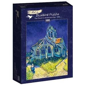 """Bluebird Puzzle (60089) - Vincent van Gogh: """"The Church in Auvers-sur-Oise, 1890"""" - 1000 pièces"""