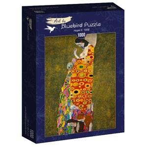 "Bluebird Puzzle (60022) - Gustav Klimt: ""Hope II, 1908"" - 1000 pièces"