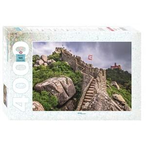 "Step Puzzle (85409) - ""Castelo dos Mouros, Sintra, Portugal"" - 4000 pièces"