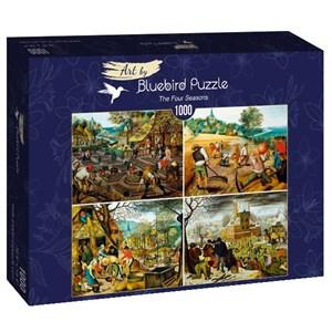 "Bluebird Puzzle (60020) - Brueghel le Jeune: ""The Four Seasons"" - 1000 pièces"