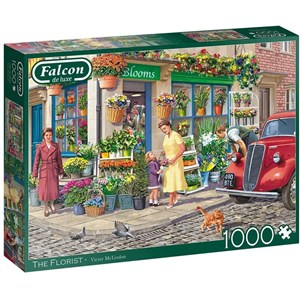"""Falcon (11297) - Victor McLindon: """"The Florist"""" - 1000 pièces"""