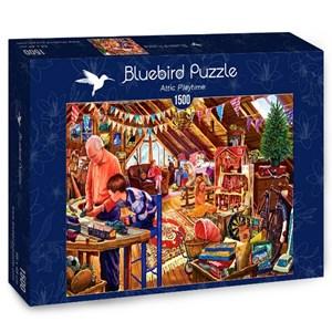 """Bluebird Puzzle (70433) - Steve Crisp: """"Attic Playtime"""" - 1500 pièces"""