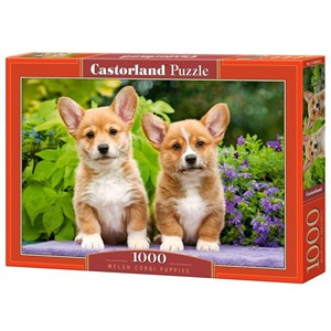 "Castorland (C-104659) - ""Welsh Corgi Puppies"" - 1000 pièces"