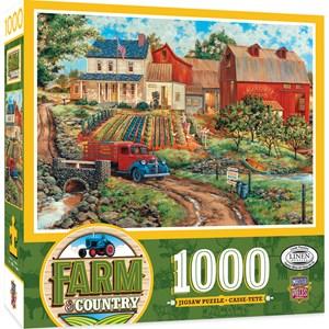 """MasterPieces (71921) - """"Grandma's Garden"""" - 1000 pièces"""