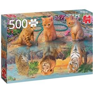 "Jumbo (18850) - ""A Kitten's Dream"" - 500 pièces"