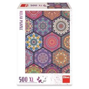 "Dino (51408) - ""Mandala"" - 500 pièces"