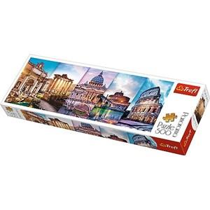 "Trefl (29505) - ""Collage, Rome"" - 500 pièces"