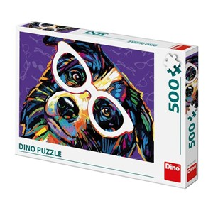 """Dino (50235) - """"Dog with Glasses"""" - 500 pièces"""