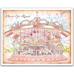 """Pintoo (h1545) - """"Merry Go Round"""" - 500 pièces"""
