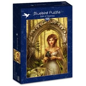 """Bluebird Puzzle (70428) - Cris Ortega: """"Gate of Destinies"""" - 1500 pièces"""