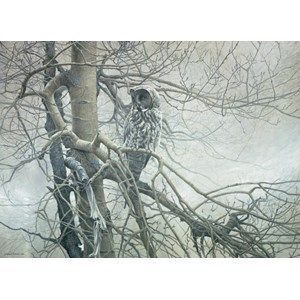 """Cobble Hill (51769) - Robert Bateman: """"Ghost of the North"""" - 1000 pièces"""