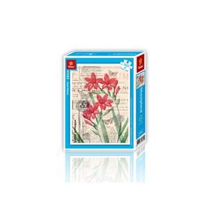 "Pintoo (h1583) - ""Floral Pattern"" - 300 pièces"