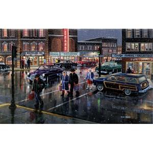 "SunsOut (39388) - Ken Zylla: ""Christmas Crosswalk"" - 300 pièces"