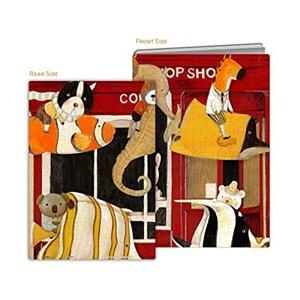 """Pintoo (y1024) - Nan Jun: """"Puzzle Cover, Slow Down"""" - 329 pièces"""