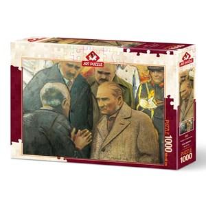 "Art Puzzle (4589) - ""Atatürk and Earthquake"" - 1000 pièces"