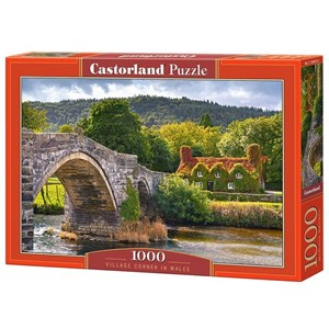 "Castorland (C-104673) - ""Village Corne in Wales"" - 1000 pièces"