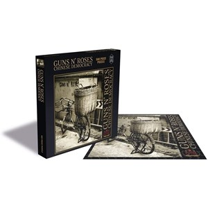 """Zee Puzzle (24967) - """"Guns N Roses, Chinese Democracy"""" - 500 pièces"""