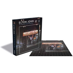 """Zee Puzzle (25151) - """"Elton John, Dont Shoot me I'm Only the Piano Player"""" - 500 pièces"""