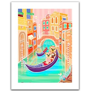 "Pintoo (h1537) - ""Romantic Vacations, Venice"" - 300 pièces"