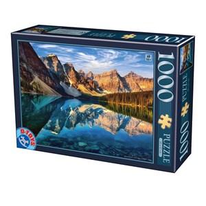 """D-Toys (75765) - """"Moraine Lake, Canada"""" - 1000 pièces"""