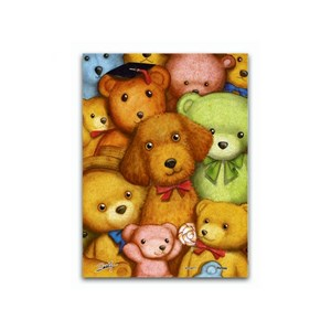 """Pintoo (p1007) - """"Poodles and Teddy Bears"""" - 150 pièces"""