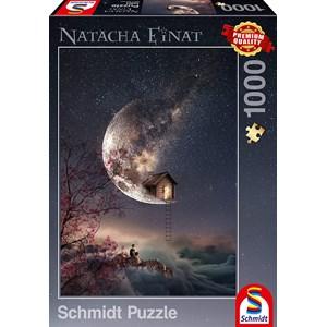 """Schmidt Spiele (59904) - Natacha Einat: """"Dream Whisper"""" - 1000 pièces"""