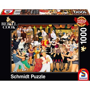 "Schmidt Spiele (59686) - Beryl Cook: ""Party Night"" - 1000 pièces"