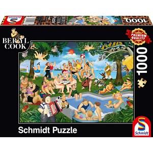"Schmidt Spiele (59687) - Beryl Cook: ""Summer Festival"" - 1000 pièces"