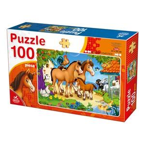 "Deico (76588) - ""Farm Animals"" - 100 pièces"