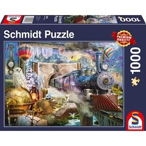 """Schmidt Spiele (58964) - """"Magic Trip"""" - 1000 pièces"""