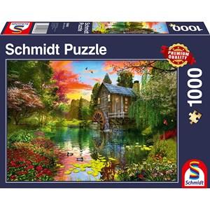 "Schmidt Spiele (58968) - ""The Water Mill"" - 1000 pièces"