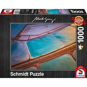 """Schmidt Spiele (59924) - Mark Gray: """"Pastelle"""" - 1000 pièces"""
